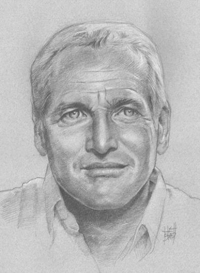 Paul Newman por Hellbay